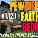 How to get PewDiePack in MCPE 1.12.1 – download PewDiePack Faithful Bedrock textures (on Android)