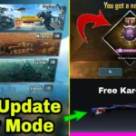 PUBG Mobile 0.15.0 Update Here New Payload Mode Get Free New Title Free Kar-98 Skin