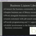 Business Liaison Librarians Creating and Connecting Communities 10 1 2019