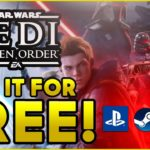 How to Get Star Wars Jedi Fallen Order for FREE ✅ (PS4 PC XBOX) Fallen Order Game Key Code Download