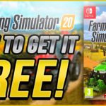 How to Get Farming Simulator 20 for FREE ✅ E-Shop Game Code (Nintendo Switch) FREE Key Code Download