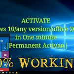 Activate Windows 10any versionoffice 201316 in One minute using KMSpico 10.2 permanent activan
