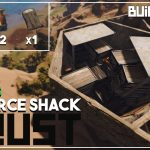 17 Boxes in a Resource Shack Rust Base Building