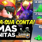 Clash Royale Mega MOD (Android) Com: Level 999+ Tudo Infinito e Anti-Ban