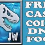 Jurassic World the Game HACK – FREE Cash, Coins, DNA Food