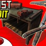Rust Exploit ▶ REPAIR SALVAGED TOOLS FOR FREE Pickaxe and Hatchet Glitch (Rust Component System)
