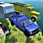 CLIFF JUMPS CRASHES 99 – BeamNG Drive