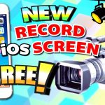 Get NEW iOS Screen Recorder FREE (NO JAILBREAK) (NO ComputerMac) iPhone, iPad, iPod Touch iOS 109