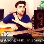 How to learn a song quickly on the bass guitar