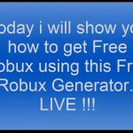 Roblox How to get Free Robux 2017 Tutorial for Android and IOS