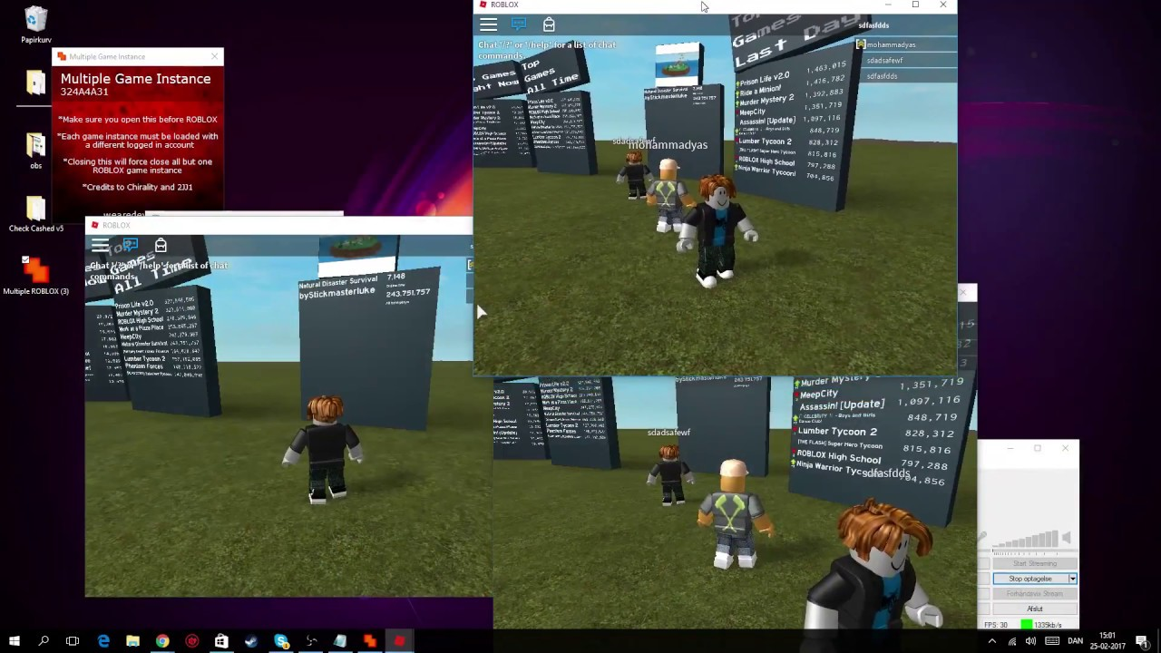Roblox Exploithack Multiple Roblox Working Games On 1 Pc