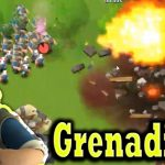 SNIPING With GRENADIERS Doctor-T Boom Beach