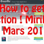 FR RE UPLOAD TUTO : COMMENT AVOIR ACTION MIRILLIS + SERIAL KEY 2.3.0, 19 MARS 2017