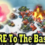 Flaring Straight To The Base SCORCHERS Boom Beach