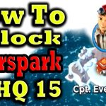 How To Unlock Cpt Everspark At Hq15 (Hero Troop) Boom Beach