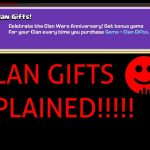 Clan War AniversaryClan Gifts?Explained