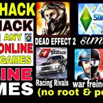 Lets Learn how to hack online games in few secound without root and pc 2017 (Drrann)