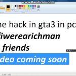 how to hack gta 3 money in pc