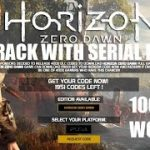 How to Download Horizon Zero Dawn Keygen Serial Key for Full Game – 1000 FREE