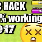 clash of clans 100 working hack get unlimited gems and coins
