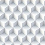 142 Gradient Mesh Abstract Background with 3D Pattern in Adobe Illustrator