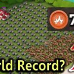 GBE WORLD RECORD? CRAZY BASE Boom Beach