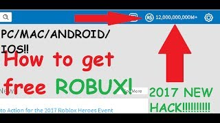 How To Generate Tons Of Robux For Free Joke Pcmaciosandroid Patched Roblox