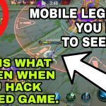 What Happen When You Hack Mobile Legends In Ranked Game