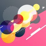 163 SPEEDART Create Modern Memphis Background with Colorful Shapes in Adobe Illustrator