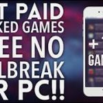 NEW How to get Paid Hacked Games Free Without JailbreakPc IOS 11-10-9