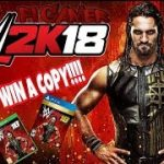 🔴WWE 2K18 GAME GIVEAWAY (FOLLOW RULES BELOW) WWE 2K18 GAME ANY CONSOLE (SUB TO ENTER)