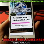 jurassic world the game hack tool no survey – jurassic world the game level hack