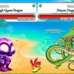 High Purity Dragon vs High Star Dragon in Lap 6 Dragon City: Heroic Racing