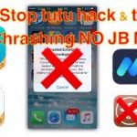 New stop tutu hack and Tweak App Crashing No Jailbreak No Computer (working)