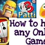 Real 100😨😨 how to hack any online game teen Patti gold Clash of Clans ludo star