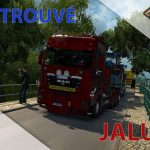 Euro Truck Simulator 2 Episode n°56 : Transport de tracteurs + On a trouvé Jalubi