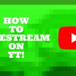 HOW TO LIVE STREAM ON YT?
