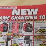 Harbor Freight October Catalog…New Game Changing Tools