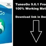 How to Crack TuneGo 9.6.1 Crack Free From Here-youtube