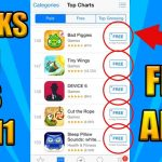Get PAID Apps for FREE + HACKED Games iOS 1110 (NO COMPUTER) (NO JAILBREAK)