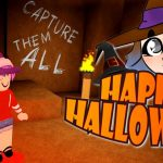 HACK THE COMPUTER AND ESCAPE THE BEAST IN ROBLOX 🎃 HALLOWEEN SPECIAL
