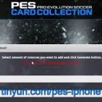 PES Card Collection Money Prime Balls PB Cheats iOS Android