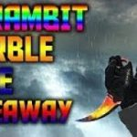 CSGO KNIFE GIVEAWAY KARAMBIT MARBLE FADE FREE KNIFE XD