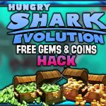 Hungry Shark Evolution Hack Gems and Coins Free (AndroidiOS)
