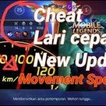 New Cheat Mobile Legends(Movement Speed) Lari cepat.New Update