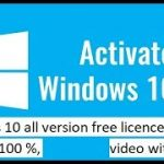windows 10 free licence key for all version,working 100,with proof, december 2017,no virus