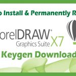 How to Install And Permanently Register Corel Draw X7 For Life Time with XFORCE Keygen