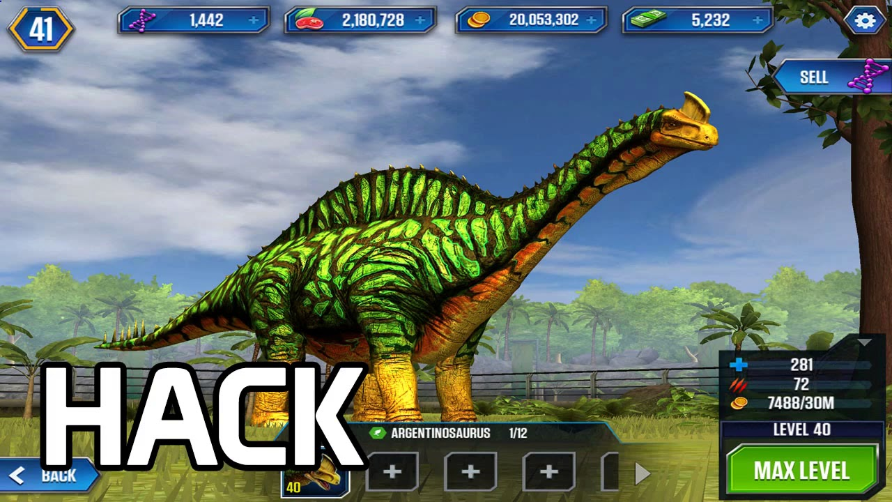 Jurassic World The Game Hack Online Cheat Tool For Android Ios 999k Resources