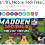 Madden Hack Coins and Cash – Madden NFL Mobile Hack Cheats 2018