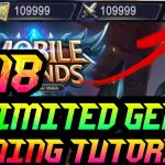 😎WORKING 100Legit- MobileLegends-HOW to get unlimited money and gems💎 2018⚡NoRoot